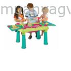 Kreatív asztal 2 db székkel