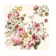 R2S.952BLOC Parafa poháralátét 6db-os, Blooming Opulence cream