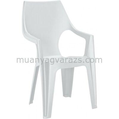 Allibert - Dante kerti műanyag magastámlás szék