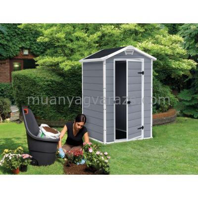 MANOR 4x3 műanyag kerti ház