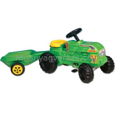 Farmer traktor + utánfutó