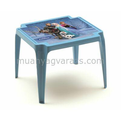 Gyerek kisasztal Jégvarázs mintával