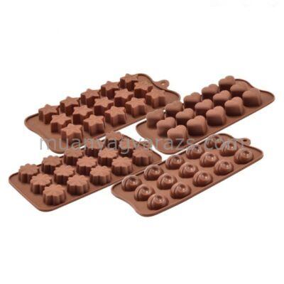 Bon-bon - csoki forma szilikon