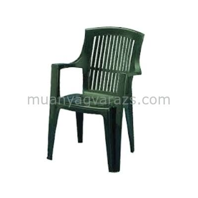 Árpa műanyag kerti támlás szék