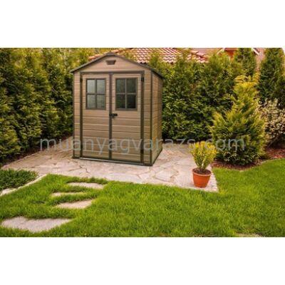 Scala 6x8 fa hatású műanyag kerti szerszámos ház