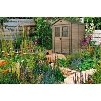Scala 6x5 fa hatású műanyag kerti szerszámos ház