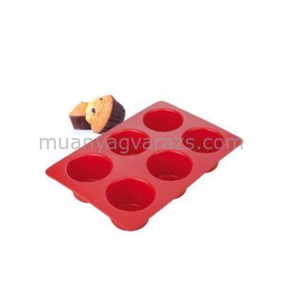Silikon muffin forma - 6 db-os Tescoma Delícia