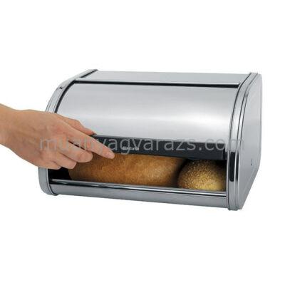 BRABANTIA ROLL MATT STEEL, fém kenyérdoboz 1 kg