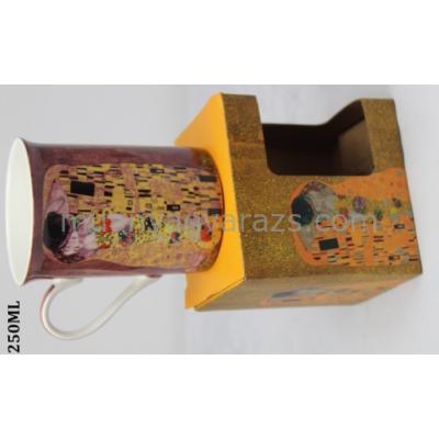 P.P.P171-08274 Porcelán bögre 250ml,Klimt:The Kiss