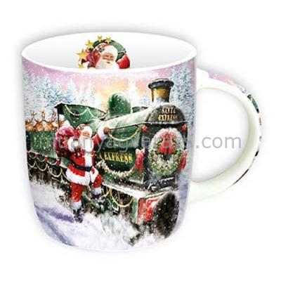 T.M.943521 Porcelán bögre 350ml.Winter Zug
