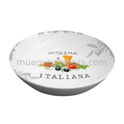 PPD.P602535 Porcelán salátás tál 24cm,Cucina Italiana