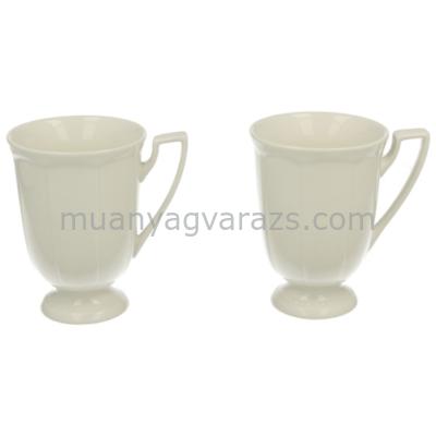 D.G.00573-CASETTE Porcelán bögre szett s/2,300ml