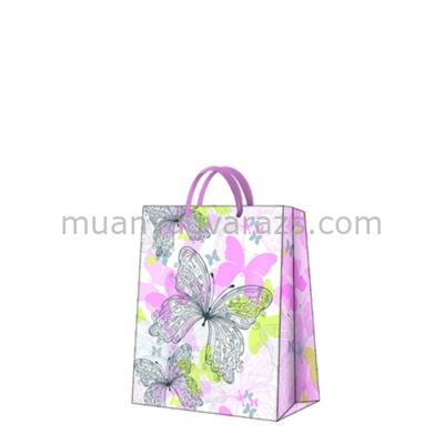 P.W.AGB029203 Premium Butterfly Meadow papír ajándéktáska medium,20x25x10cm