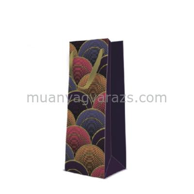 P.W.AGB1005904 Hanks of Wool papír ajándéktáska italos premium 12x37x10cm