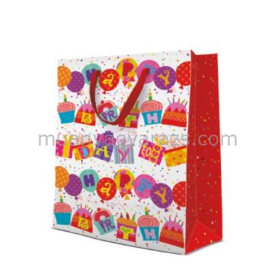P.W.AGB1004202 Unusual Birthday papír ajándéktáska big 30x41x12cm