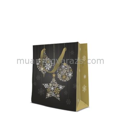 P.W.AGB2005403 Magic Stars papír ajándéktáska medium premium 20x25x10cm