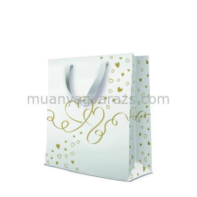 P.W.AGB3001505 Premium Love Around papír ajándéktáska large 26,5x33,5x13cm