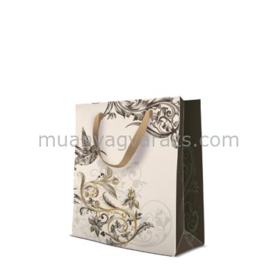P.W.AGB1007503 Premium Hummingbird papír ajándéktáska medium 20x25x10cm