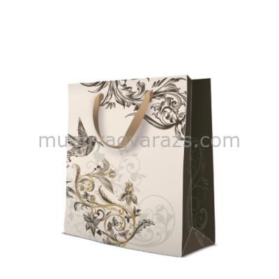 P.W.AGB1007505 Premium Hummingbird papír ajándéktáska large 26,5x33,5x13cm