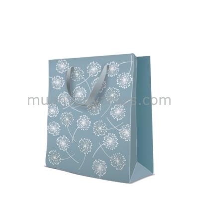 P.W.AGB1007605 Premium Puff-balls papír ajándéktáska large 26,5x33.5x13cm