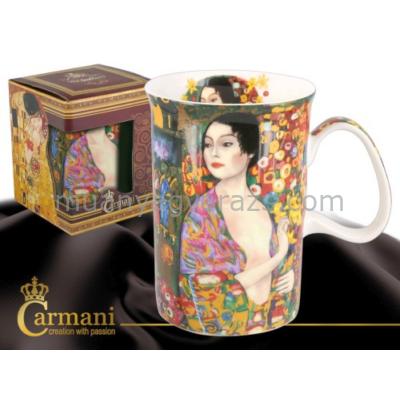 H.C.532-7116 Porcelán bögre 0,35l,Klimt:Táncosnő