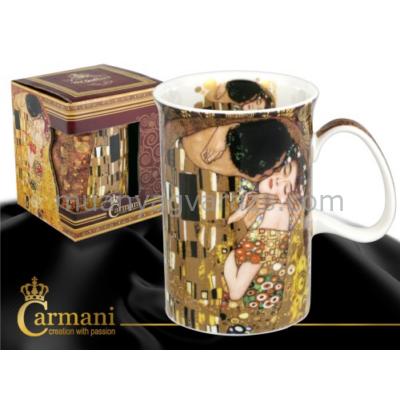 """H.C.532-7101 Porcelán bögre 0,35l """"Klimt:Kiss"""""""