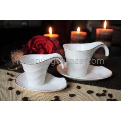 D.G.Y2-2FS220-DELOS Porcelán csésze+alj,2 személyes dobozban,220ml,Delos