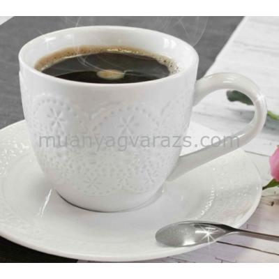 V.B.15372 Finezja porcelán csésze+alj ,280ml,2 személyes,dobozban