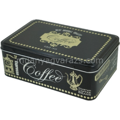 T.B.BC322 Fémdoboz 190x126x70mm, Black Coffee