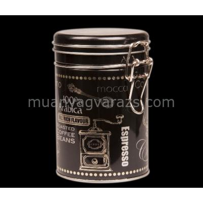 T.B.BC320 Fémdoboz 85x130mm, Black Coffee