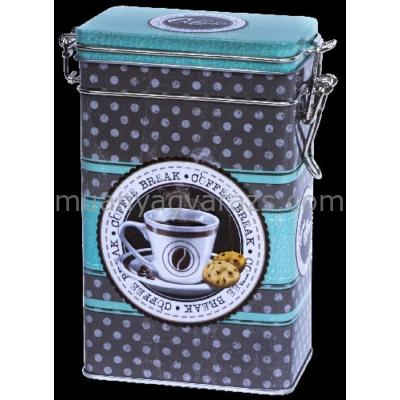 T.B.CBR678 Fémdoboz 108x67x176mm, 250g, Coffee Break
