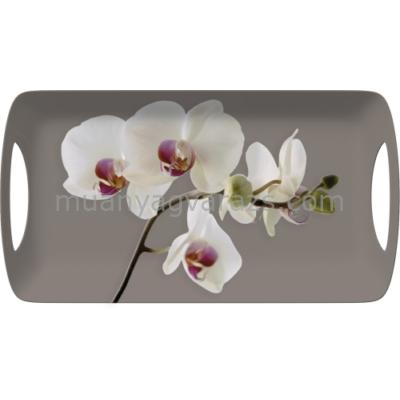 C.T.5140460 Műanyag szendvicstálca 385x200mm, Orchid Harmony