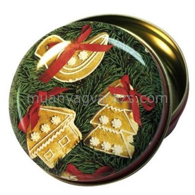 T.M.6712938 Gingerbread Ornaments konyhai fémdoboz 63x30mm