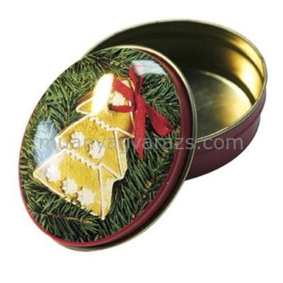T.M.6713222 Gingerbread Ornaments konyhai fémdoboz 58x38x21mm