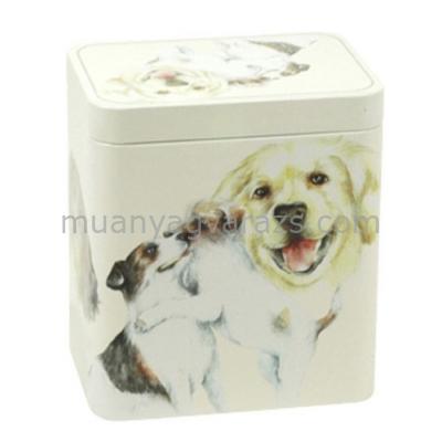 T.M.2783100 Family Favourites Dog konyhai fémdoboz 116x81x116mm