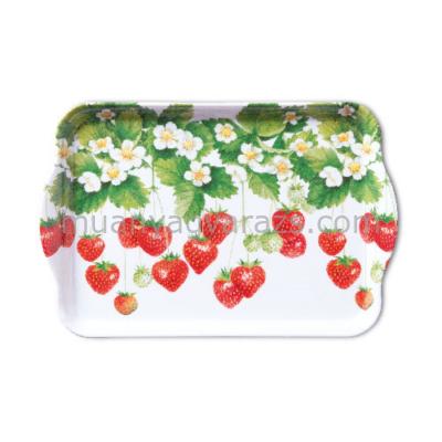 AMB.13708205 Summer Fruits műanyag kistálca 13x21cm