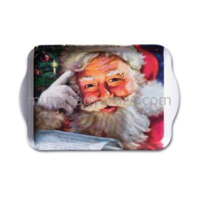 AMB.33705050 Remember Santa! műanyag kistálca 13x21cm