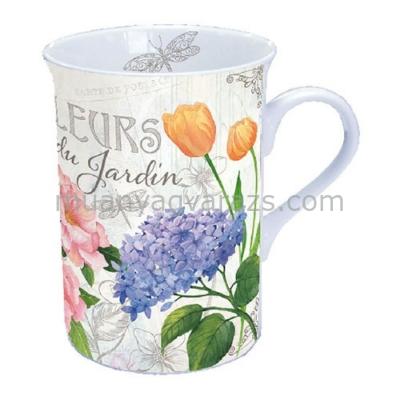 AMB.18609885 Fleurs Du Jardin porcelán bögre dobozban 0,25l