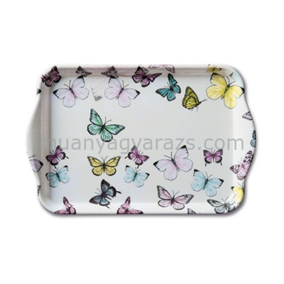 AMB.13710000 Butterfly műanyag kistálca 13x21cm