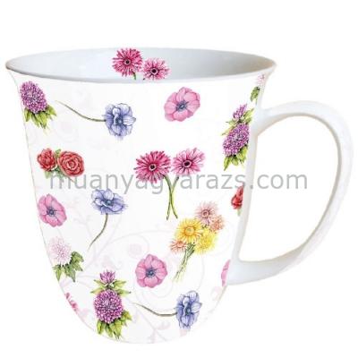 AMB.18409985 Flower Festival porcelán bögre 0,4l