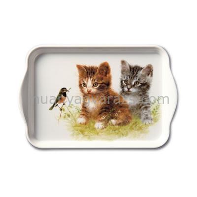 AMB.13710170 Kitten Friens műanyag kistálca 13x21cm
