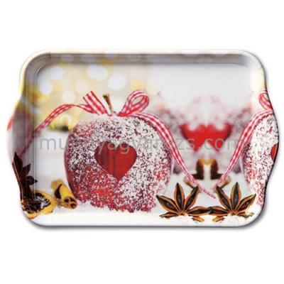 AMB.33710560 Heart On Apple műanyag kistálca 13x21cm