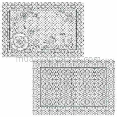 R2S.320URCH Müanyag tányéralátét kétoldalas 45x30cm, Urban Chic