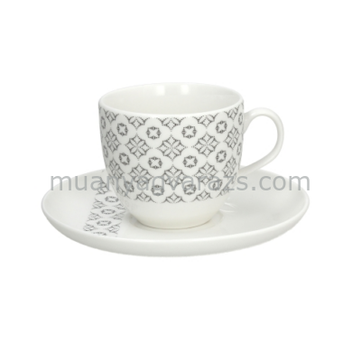 T.P.PP012308439 Porcelán teacsésze+alj 190ml,Prima Enigma,Andrea Fontebasso1760