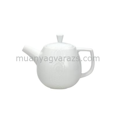 T.P.CR033100000 Porcelán teáskanna 1L,Cleopatra Bianco,Andrea Fontebasso1760