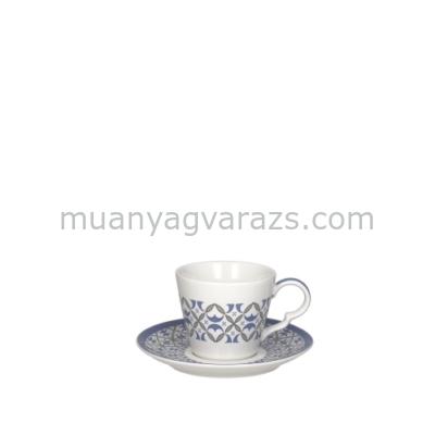 T.P.TJ085134146 Porcelán teacsésze+alj 250ml,4 személyes szett,Tea Time Tea Shop,Andrea Fontebasso1760