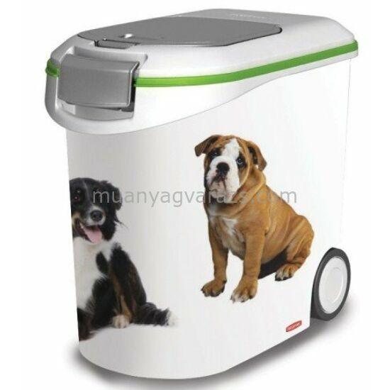 Pet Life 20 kg száraz kutyatáp tartó