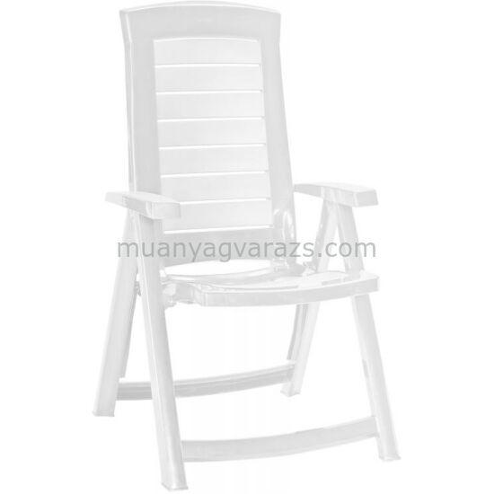 Aruba magas támlás összecsukható karfás kerti szék