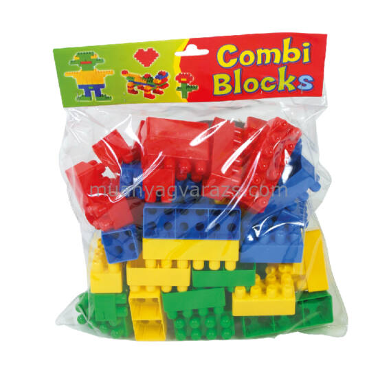 Combi zsacskós építőkocka