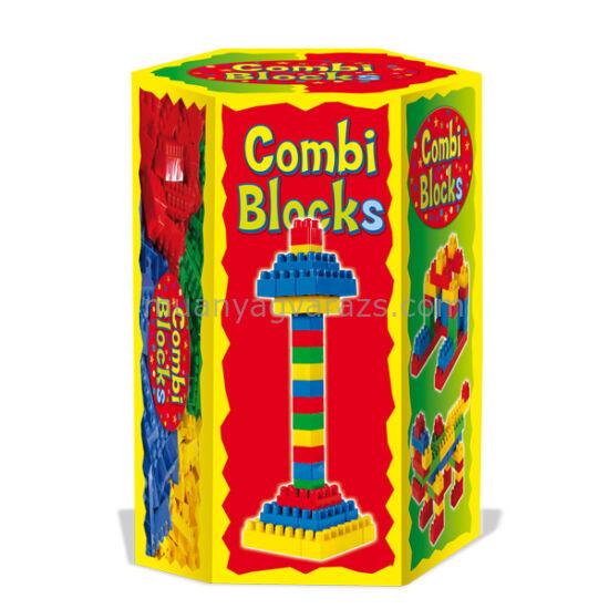 Combi építőkocka 6 szögletű dobozban